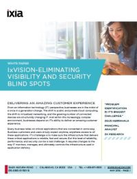 Eliminating Visibility and Security Blind Spots