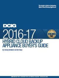 2016-17 Hybrid Cloud Backup Appliance Buyer's Guide