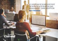 Europäischer Forschungsbericht über die Einbindung von Service Integration And Management (SIAM)