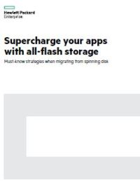 Supercharge Your Apps with All-Flash Storage