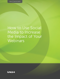 How to Use Social Media to Increase the Impact of Your Webinars