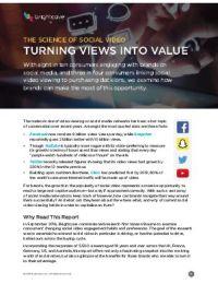 Die Wissenschaft hinter Social Video: Erfolg mit Bildern