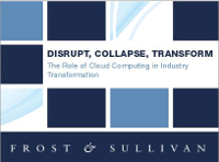 Disrupt, Collapse, Transform: The Role of Cloud Computing