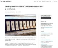 The Beginner's Guide to Keyword Research for eCommerce
