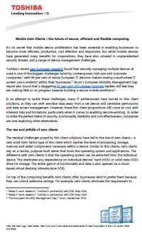 Mobile Zero Clients – Die Zukunft von sicherem, effizientem und flexiblem Computing