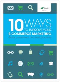 10 Ways to Improve your E-Commerce Marketing