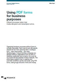 Using PDF Forms for Business Purposes