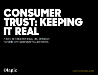 Consumer Trust: Keeping it Real