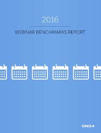 2016 Webinar Benchmarks Report