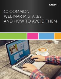 10 Common Webinar Mistakes