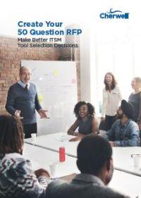 Entwickeln Sie Ihr 50 Fragen RFP