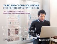 Tape and Cloud Solutions for Offsite Data Protection